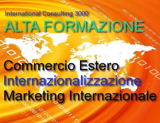 formazione commercio estero internazionalizzazione marketing internazionale
