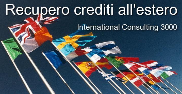recupero crediti estero europa asia america africa